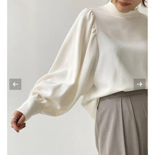L'Appartement DEUXIEME CLASSE - L'Appartement Stand Collar Blouse ホワイト