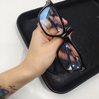 Chrome Hearts - クロムハーツ サングラス ブラック メガネ 男女兼用