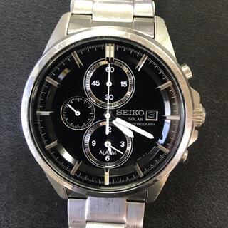 セイコー(SEIKO)のセイコー 腕時計 メンズ ソーラー  クロノグラフ  (腕時計(アナログ))