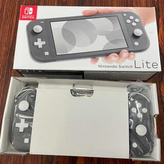 Nintendo Switch - 美品★任天堂Switchライト本体 グレー