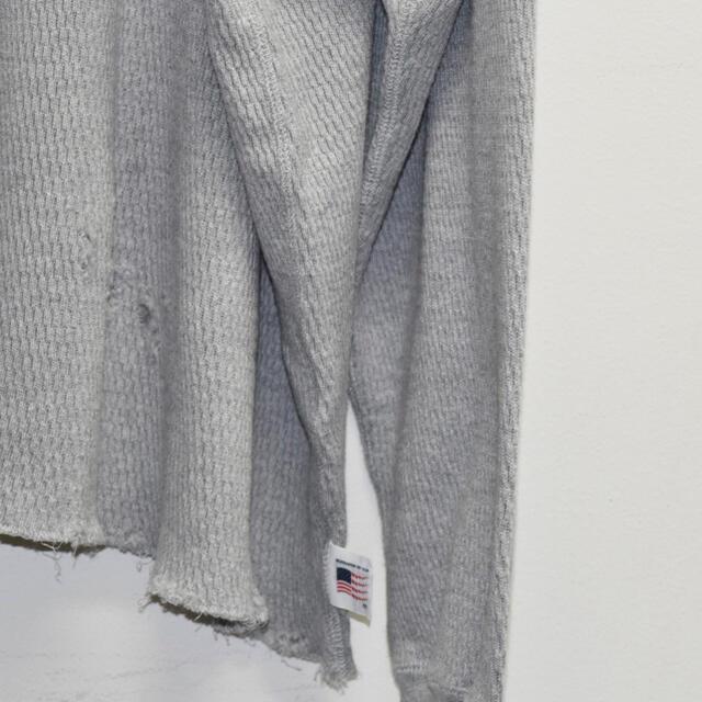 DAIRIKU Thrift Thermal Tee  CONCRETE  メンズのトップス(スウェット)の商品写真