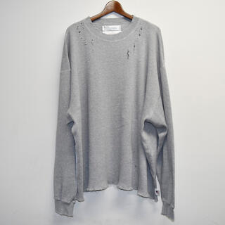 DAIRIKU Thrift Thermal Tee  CONCRETE