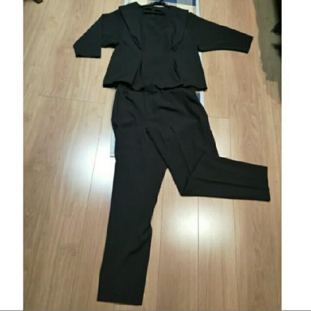 卒業式入学式セットアップパンツスーツ★ レディースのフォーマル/ドレス(スーツ)の商品写真