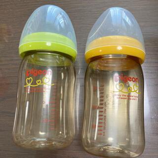 Pigeon - ピジョン プラスチック哺乳瓶 160ml 2本セット