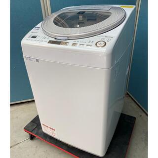 SHARP - 超美品 シャープ縦型洗濯乾燥機9.0kg 乾燥4.5kg  ES-TX9A