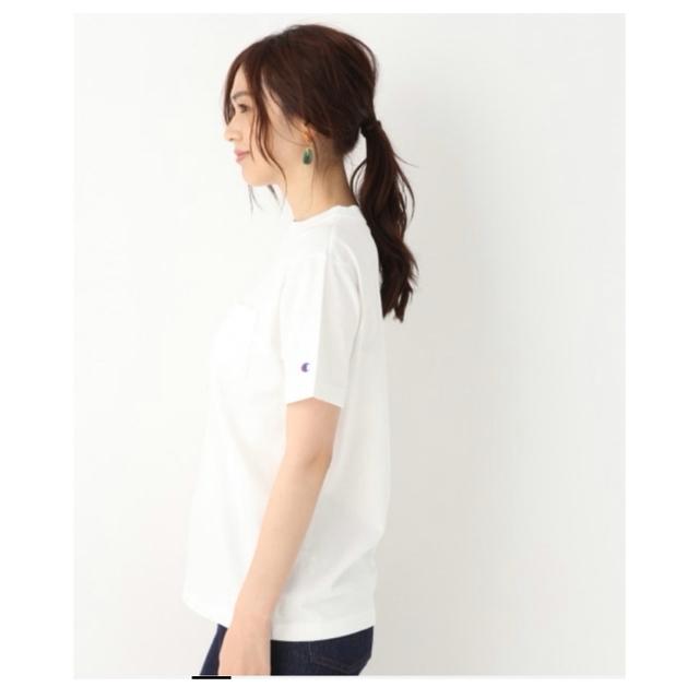 GLOBAL WORK(グローバルワーク)のグローバルワーク チャンピオン Tシャツ レディースのトップス(Tシャツ(半袖/袖なし))の商品写真