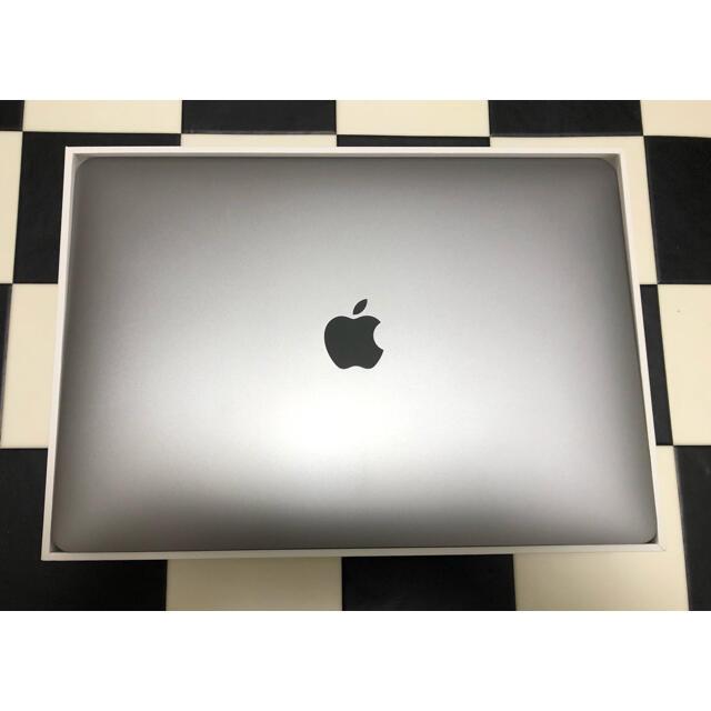 Apple(アップル)の値下 APPLE MacBook Air 13 2018 128Gスペースグレー スマホ/家電/カメラのPC/タブレット(ノートPC)の商品写真