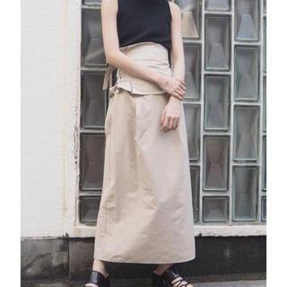 ムルーア(MURUA)のMURUA2wayスカート(ひざ丈スカート)