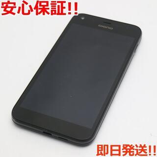 キョウセラ(京セラ)の美品 判定○ SoftBank 503KC DIGNO F ブラック (スマートフォン本体)
