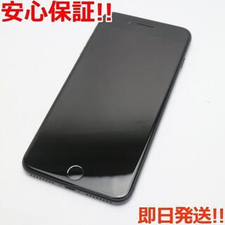 アイフォーン(iPhone)の超美品 SIMフリー iPhone7 PLUS 32GB ジェットブラック (スマートフォン本体)