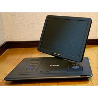 BOIFUN ポータブル DVDプレーヤー BFN-161 黒 15.6インチ(DVDプレーヤー)