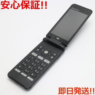 キョウセラ(京セラ)の良品中古 au KYF31 GRATINA 4G ブラック (携帯電話本体)