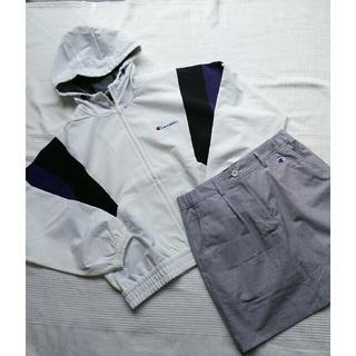 Champion - チャンピオン ゴルフジップフードジャケット ストレッチ スカート Lサイズセット