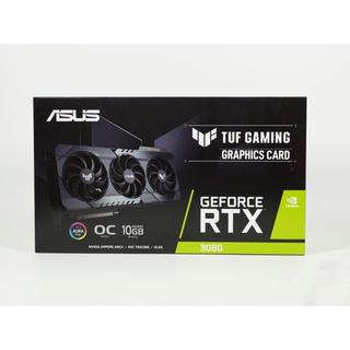 エイスース(ASUS)のASUS TUF-RTX3080-O10G-GAMING 超美品(PCパーツ)