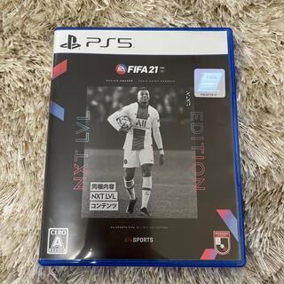 プレイステーション(PlayStation)のFIFA 21 NXT LVL EDITION PS5(家庭用ゲームソフト)