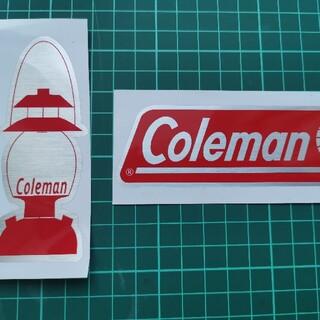 メタル調コールマンステッカー2枚セット #Coleman #コールマン #アウト(その他)