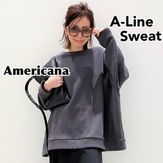 L'Appartement DEUXIEME CLASSE - 【AMERICANA/アメリカーナ】A-Line Sweat Aラインスウェット