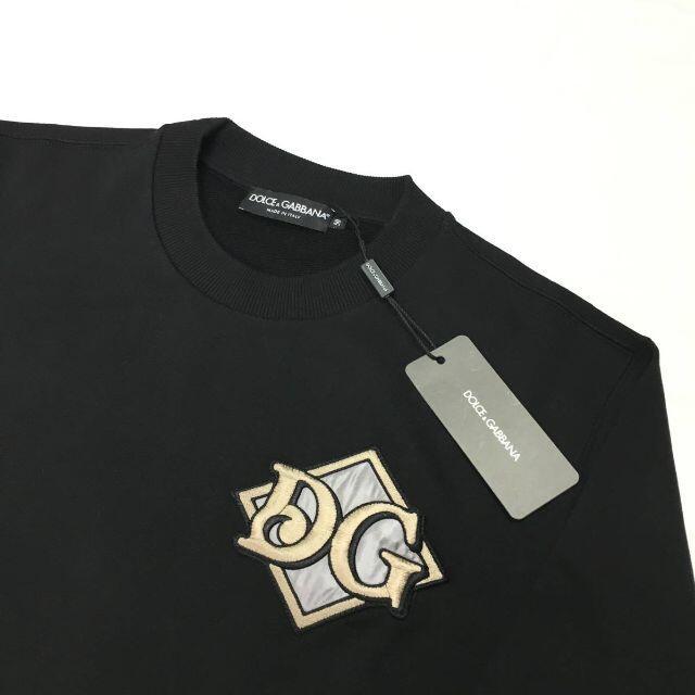 DOLCE&GABBANA(ドルチェアンドガッバーナ)の新品 ドルチェ&ガッバーナ ロゴ クルーネック スウェット シャツ メンズのトップス(スウェット)の商品写真