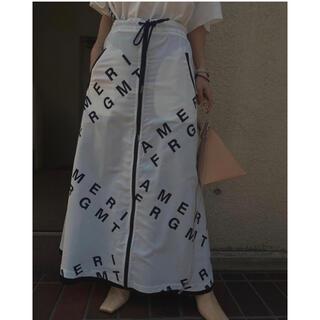 Ameri VINTAGE - お値下げ!新品⭐︎AMERI FRAGMENT リバーシブルスカート Mサイズ