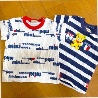 mikihouse - ミキハウス tシャツ 80 90