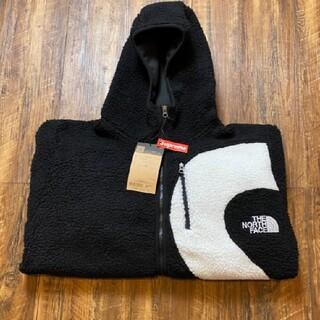 SUPREME S Logo Hooded Fleece Jacket フリース