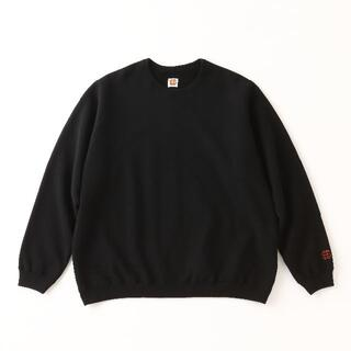 SEE SEE CREW SWEAT BLK sfc