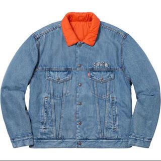 シュプリーム(Supreme)のSupreme Levi's Quilted Reversible Jacket(Gジャン/デニムジャケット)