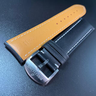 BREITLING - 22mm ブライトリング BREITLING 尾錠 カーフベルト