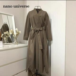 ナノユニバース(nano・universe)の【美品】ナノユニバース ワンピース(ひざ丈ワンピース)