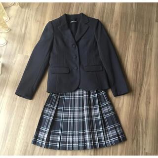 ポンポネット(pom ponette)のポンポネット ジャケット ベスト スカート150 ウール3点 卒服 受験 入学式(ドレス/フォーマル)