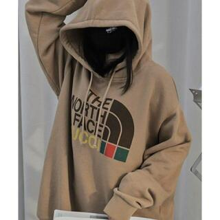 THE NORTH FACE - THE NORTH FACEとGUCCIパーカー