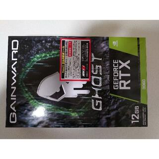 【新品未開封】グラフィックカード RTX3060 GHOST 12G GDDR6