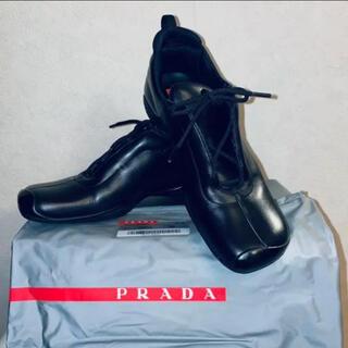 PRADA - PRADA SPORT プラダスポーツ レザーシューズ スニーカー