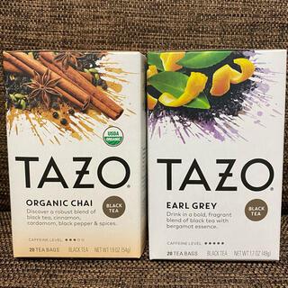 TAZO オーガニック チャイ アールグレイ 2箱セット(茶)