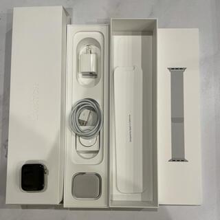 Apple Watch - アップルウォッチ series5 ステンレス シルバー 40mm