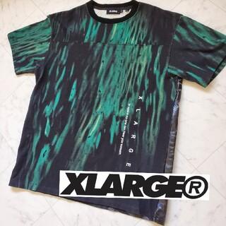 XLARGE - XLARGE エクストララージ コラボ Tシャツ M~Lサイズ相当 40周年記念
