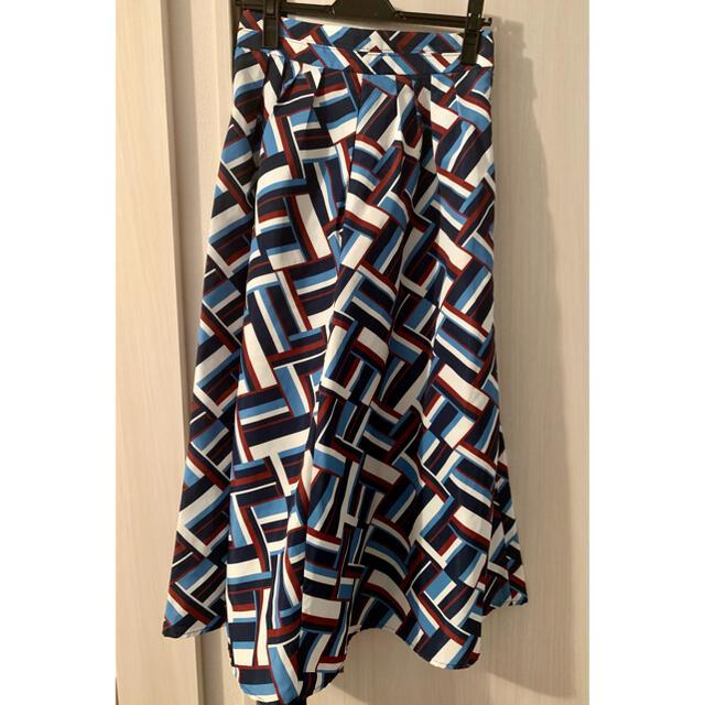 Mila Owen(ミラオーウェン)のMila Owen ミラオーウェン ロングフレアースカート レディースのスカート(ロングスカート)の商品写真