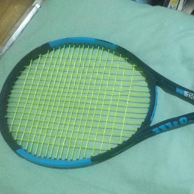 wilson(ウィルソン)の硬式テニスラケット Wilson ウルトラ100 スポーツ/アウトドアのテニス(ラケット)の商品写真