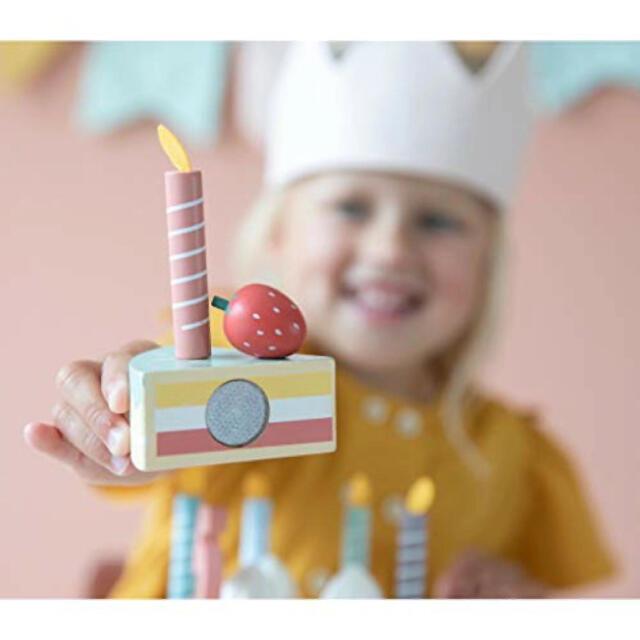 Bonpoint(ボンポワン)の▼ Little dutch リトルダッチ ▼木製 バースデーケーキ おままごと キッズ/ベビー/マタニティのおもちゃ(知育玩具)の商品写真