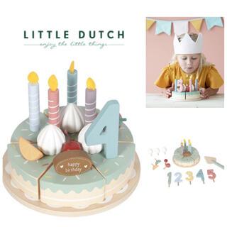 Bonpoint - ▼ Little dutch リトルダッチ ▼木製 バースデーケーキ おままごと