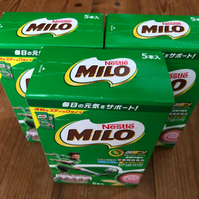 Nestle(ネスレ)のミロ スティック 3箱 食品/飲料/酒の健康食品(その他)の商品写真