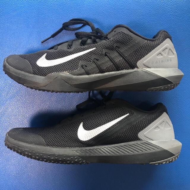 NIKE(ナイキ)のNIKE ナイキ リタリエーション TR 2  黒 ブラック 25.5cm メンズの靴/シューズ(スニーカー)の商品写真