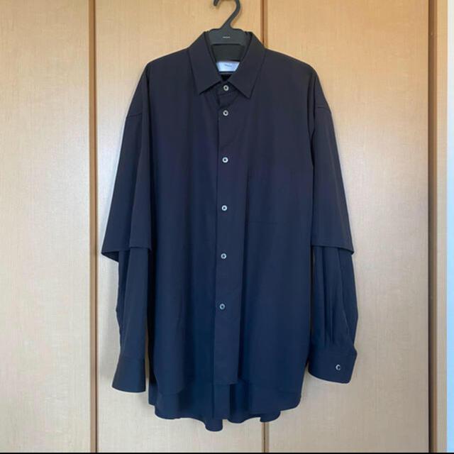 COMOLI(コモリ)のstein 20aw レイヤードシャツ メンズのトップス(シャツ)の商品写真