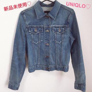 UNIQLO - 【新品未使用】3/4まで値下げ♡ユニクロ♡デニムジャケット♡Gジャン