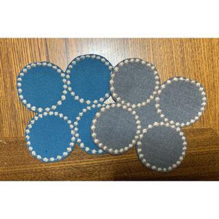 ミナペルホネン(mina perhonen)のミナペルホネン ハンドメイド コースター2枚セット(雑貨)