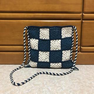 COMOLI - story mfg crochet bag stash bag