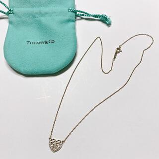 Tiffany & Co. - ティファニー♡シルバーネックレス ハートモチーフ エンチャント