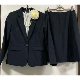 フォーマル スーツ 4点セット 入学式 卒業式 ネイビー  L