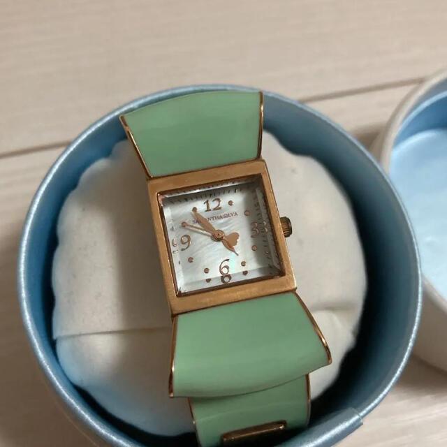 Samantha Silva(サマンサシルヴァ)の腕時計 サマンサシルヴァ ミントグリーン レディースのファッション小物(腕時計)の商品写真