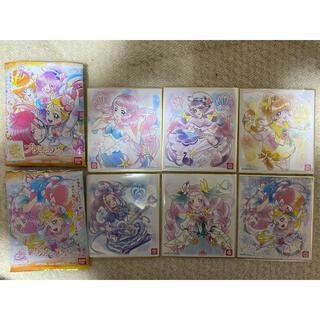 バンダイ(BANDAI)のプリキュア 色紙ART4 レア色紙キュアサマー&ローラ付き全6種類セット 新品(印刷物)